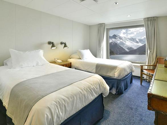 photo cabine ab Ventus Australis  - Cabine avec balcon