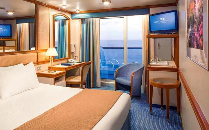 Photo Cabine Diamond Princess - Cabine Balcon