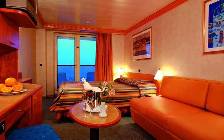 Photo Cabine Costa Mediterranea - Cabine Balcon