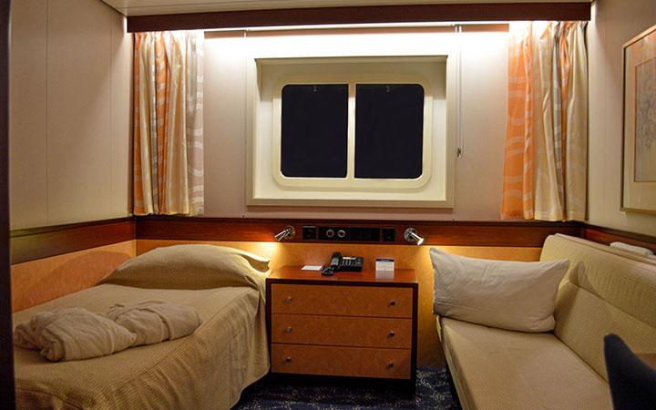 Photo Cabine Jules Verne - Cabine Extérieure