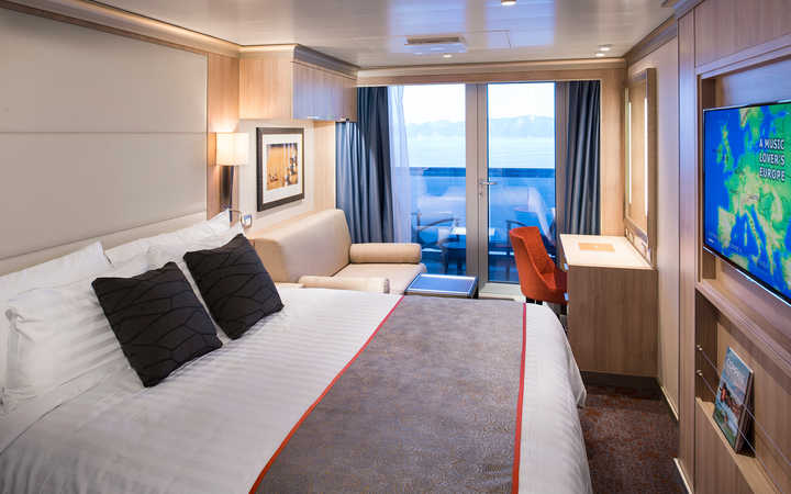 Photo Cabine MS Koningsdam - Cabine Balcon