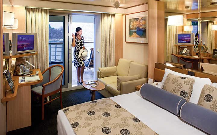 Photo Cabine MS Rotterdam - Cabine Balcon