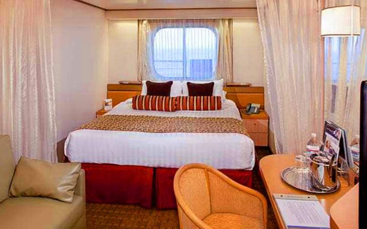Photo Cabine MS Rotterdam - Cabine Extérieure
