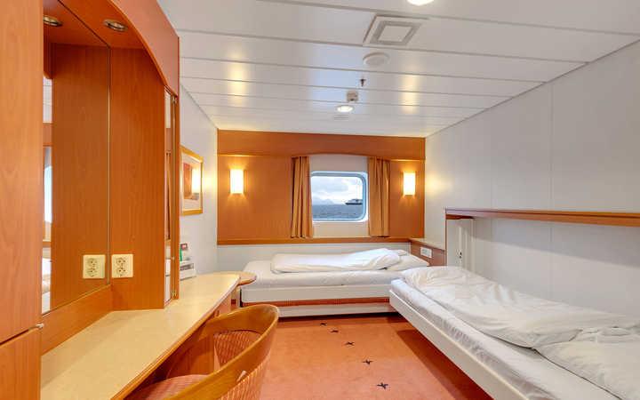 Photo Cabine MS Trollfjord - Cabine Extérieure