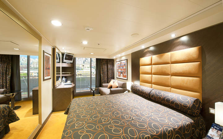 Photo Cabine MSC Fantasia - Cabine Balcon