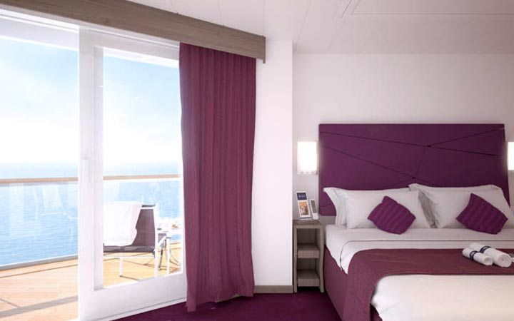 Photo Cabine MSC Seaview - Cabine Balcon