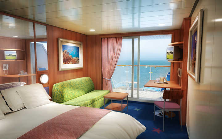 Photo Cabine Norwegian Dawn - Cabine Balcon