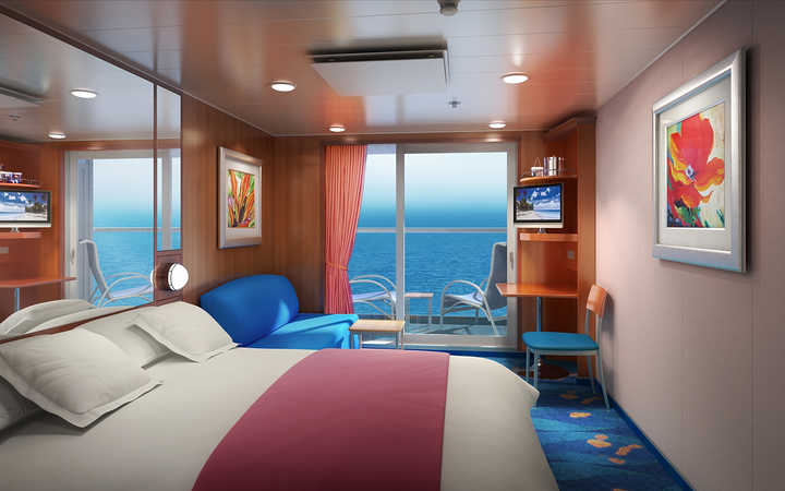 Photo Cabine Norwegian Pearl - Cabine Balcon