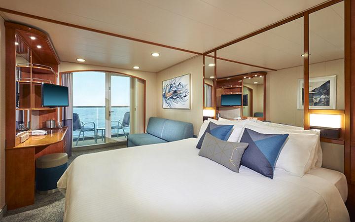 Photo Cabine Norwegian Sun - Cabine Balcon