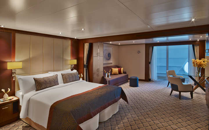 Photo Cabine Seabourn Encore - Cabine Suite