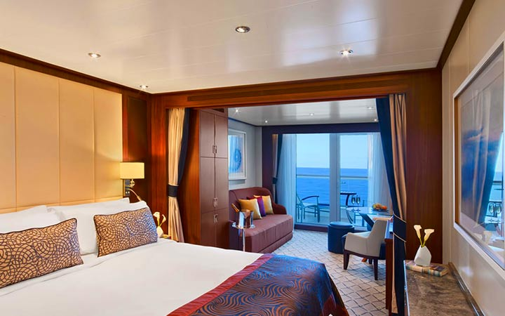 Photo Cabine Seabourn Ovation - Cabine Suite