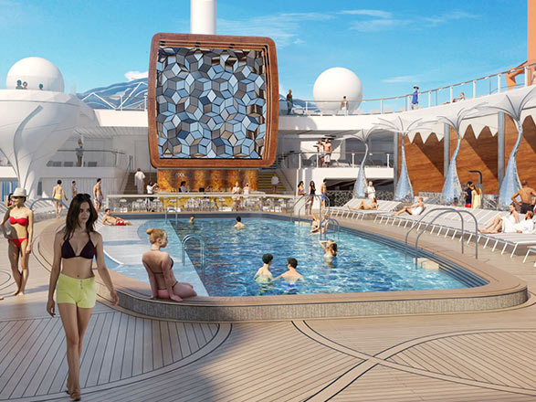 Nouvel An à bord du Celebrity Edge