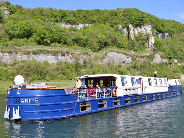 croisière Rhône Saône - Rhône Saône : Croisière sur les canaux de Bourgogne, la Saône et du Centre (DSL)