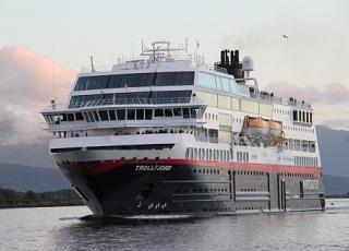 Nouvel An à bord du MS Trollfjord (ou similaire)