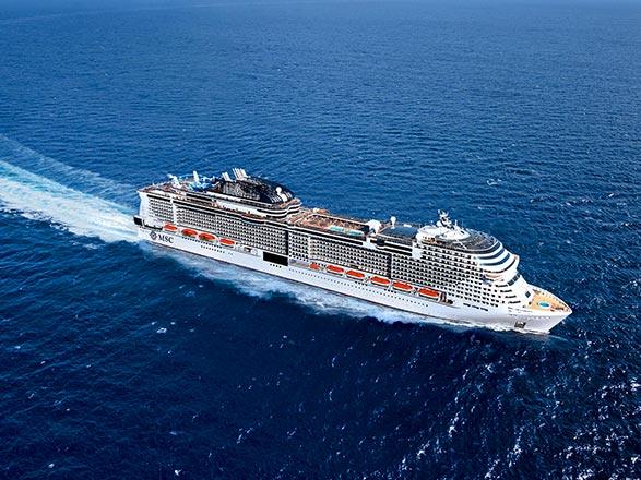 Nouvel An à bord du MSC Grandiosa
