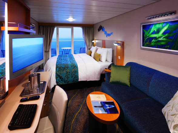 Foto cabina Allure of the Seas  - Cabina con balcone