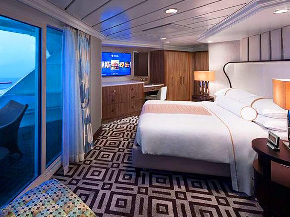 Crociere di lusso mediterraneo caraibi su navi prestigiose for Cabine invernali di lusso