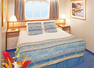 Foto cabina Caribbean Princess  - Cabina esterna