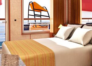Foto cabina Carnival Ecstasy  - Cabina suite