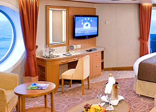 Foto cabina Celebrity Eclipse  - Cabina suite