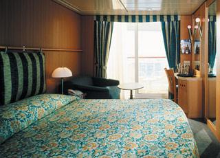 Foto cabina Celebrity Infinity  - Cabina con balcone