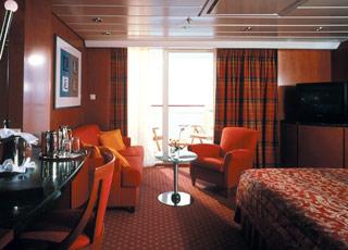 Foto cabina Celebrity Infinity  - Cabina suite