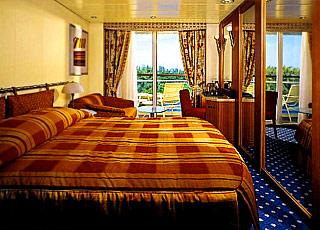 Foto cabina Celebrity Summit  - Cabina con balcone