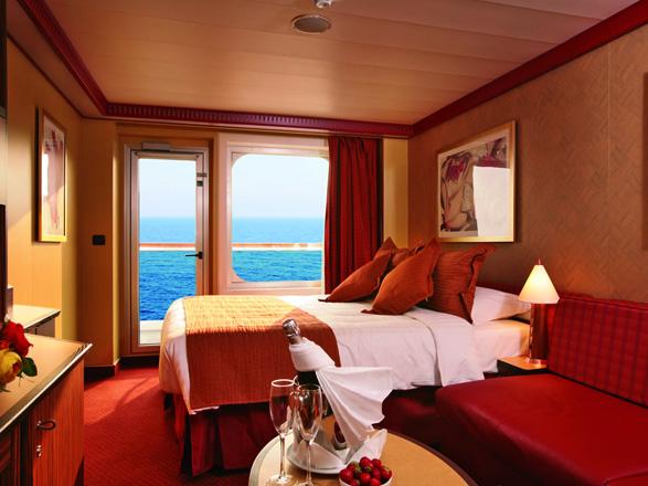 Foto cabina Costa Fascinosa  - Cabina con balcone