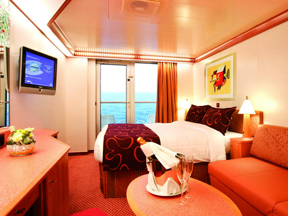 Foto cabina Costa Luminosa  - Cabina con balcone