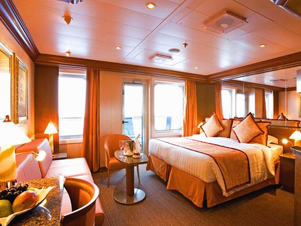 Foto cabina Costa Serena  - Cabina con balcone