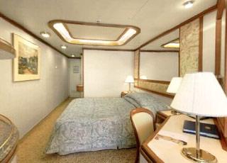Foto cabina Crown Princess  - Cabina suite