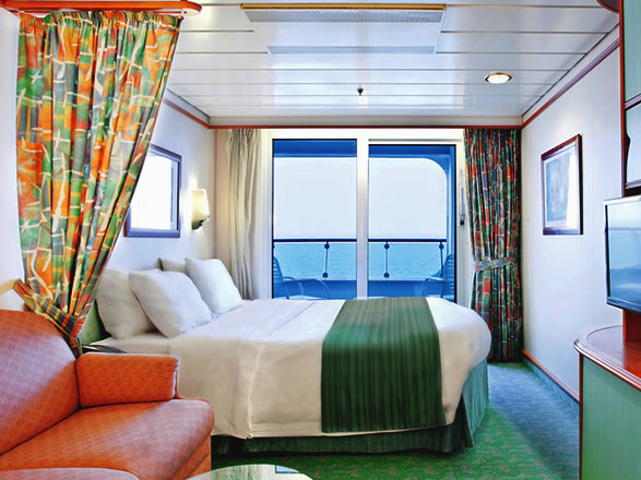 Foto cabina Explorer of the Seas  - Cabina con balcone