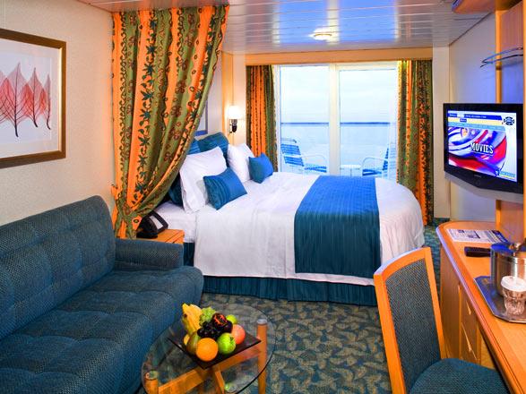 Foto cabina Freedom Of the Seas  - Cabina con balcone