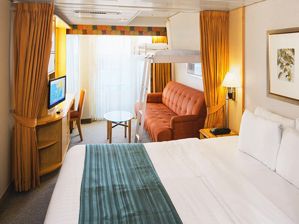 Foto cabina Grandeur of the Seas  - Cabina con balcone