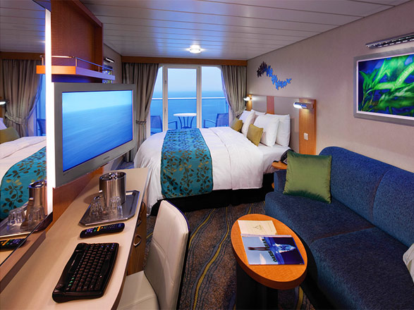 Foto cabina Harmony of the Seas  - Cabina con balcone