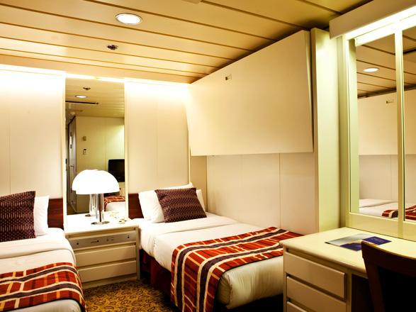 Foto cabina Horizon  - Cabina interna