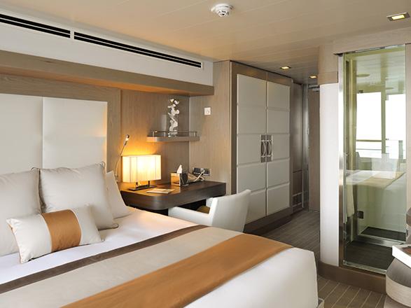 Foto cabina L'Austral  - Cabina con balcone