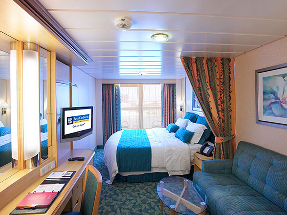 Foto cabina Liberty of the Seas  - Cabina con balcone