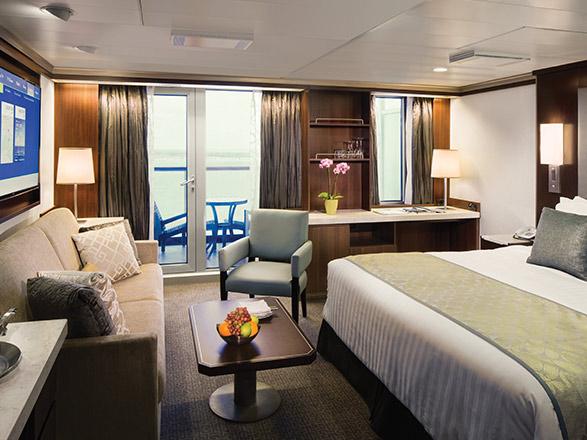 Foto cabina MS Eurodam  - Cabina suite
