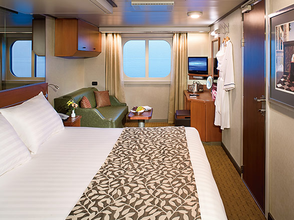 Foto cabina MS Nieuw Amsterdam  - Cabina esterna