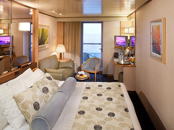 Foto cabina MS Rotterdam  - Cabina con balcone