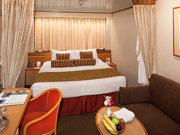 Foto cabina MS Rotterdam  - Cabina interna