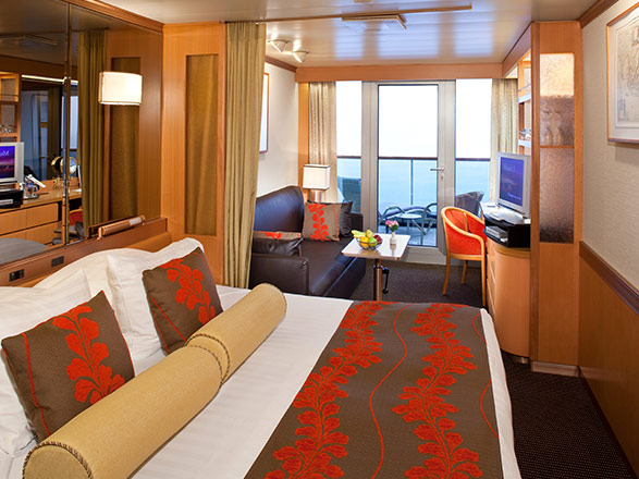 Foto cabina MS Rotterdam  - Cabina suite