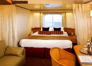 Foto cabina MS Ryndam  - Cabina esterna