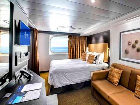 Foto cabina MSC Bellissima  - Cabina esterna