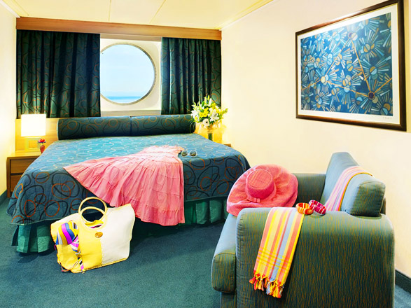 Foto cabina MSC Fantasia  - Cabina esterna