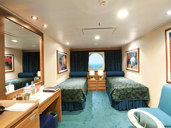 Foto cabina MSC Magnifica  - Cabina esterna
