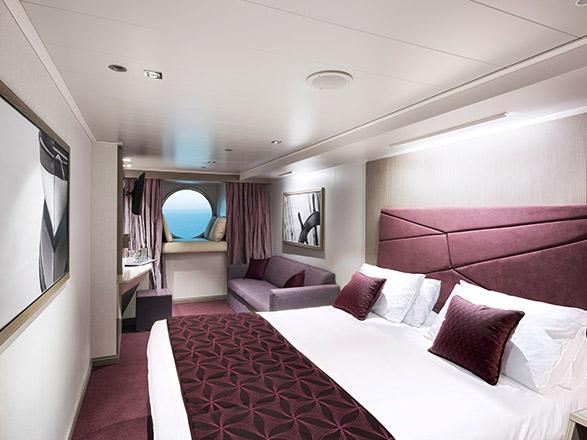 Foto cabina MSC Seaside  - Cabina esterna