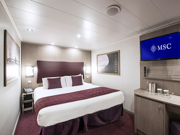 Foto cabina MSC Seaside  - Cabina interna