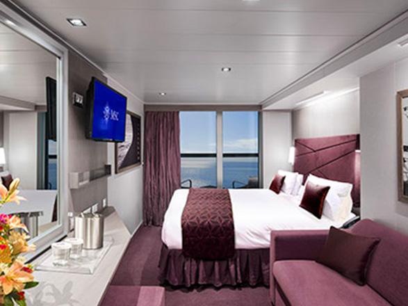 Foto cabina MSC Seaview  - Cabina con balcone